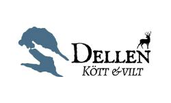 Dellen kött och vilt-logo
